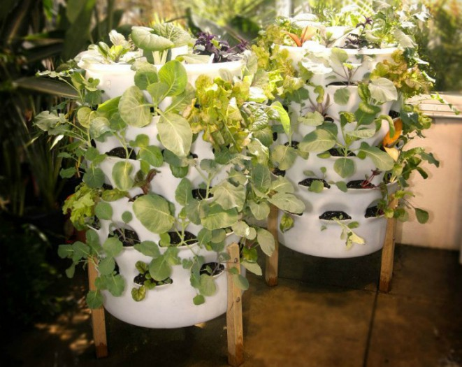 how to build a sustainable grow tower